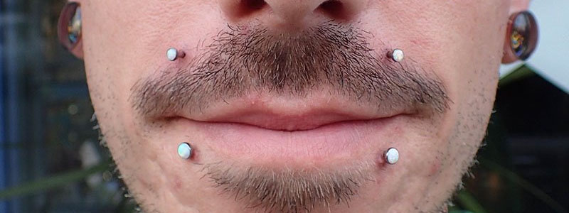 piercing canine bites